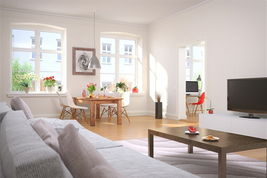 96 m2 andelsbolig i Brøndby til salg