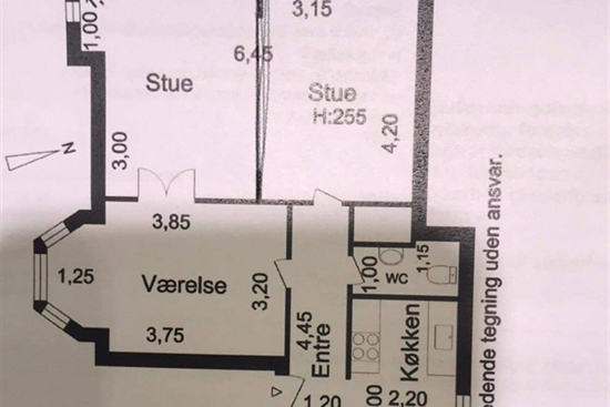 74 m2 lejlighed i Valby til leje