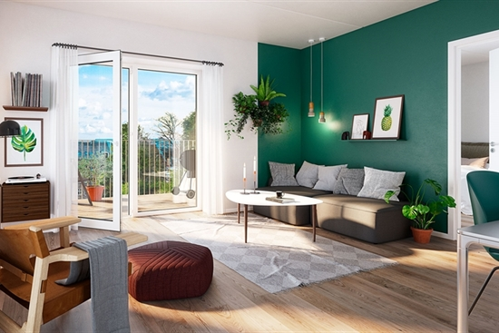 65 m2 lejlighed i Århus C til leje